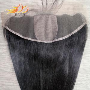 8A Silk Base Brazilian Virgin Human Hair Lace Frontal pictures & photos