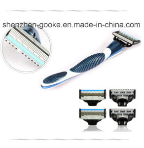 5 Blades Shaving Razor Cartridges with Trimmer and Alloy Handle pictures & photos