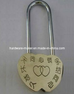 Various Size of The Alloy Love Lock Wishiing Lock