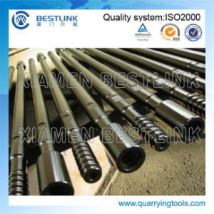 R32/T38/T45/T51 Bench Drilling Drifter Rod with Flushing Hole pictures & photos
