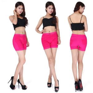 Women′s High Waist Shorts Summer Casual Shorts Lace Flowers Short Pants