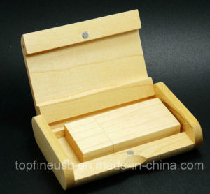 OEM/ODM Wood USB Flash Drive pictures & photos