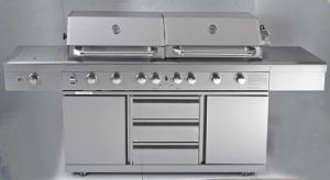 Twin Hood High End Gas Grill