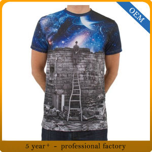 Wholesale New Design All Over Dye Sublimation Printing T Shirts pictures & photos