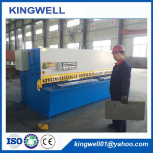 Metal Plate Hydraulic Swing Beam Shearing Machine with Best Price (QC12Y-8X3200) pictures & photos