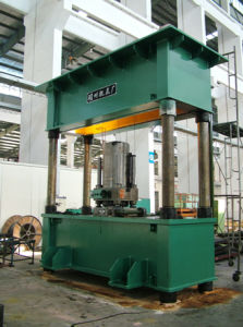 Pressure Head Mobile Hydraulic Press pictures & photos