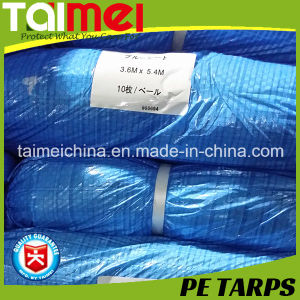 Japanese #1800/#2000/#3000 PE Tarpaulin/Tarp for Cover pictures & photos