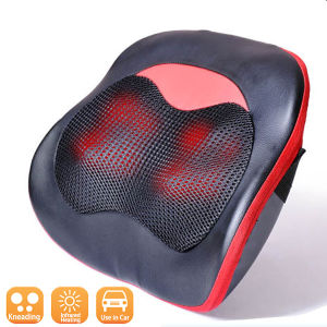 Portable Infrared Shiatsu Car and Home Vibrating Massage Pillow pictures & photos