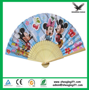 European Regional Bamboo Fan with Folding Blades pictures & photos