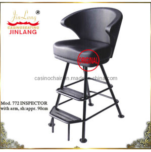Inspector Chair Black With Two-Level Frame Mod. 772