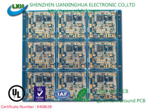 6 Layers Immersion Gold Integrated Circuit Board for Communication Electronics