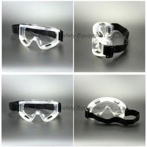 CE En166 PVC Transparent Frame Safety Goggles (SG142) pictures & photos