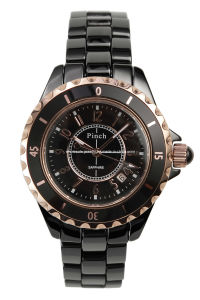 2013 Style Ceramic Band Sapphire Diamond Watches (CW003B)
