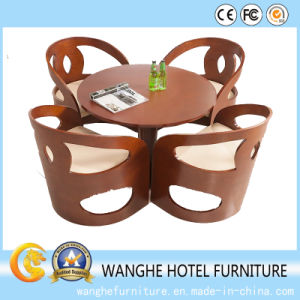 Hotel Furniture Office Lobby Wood Furniture Set pictures & photos