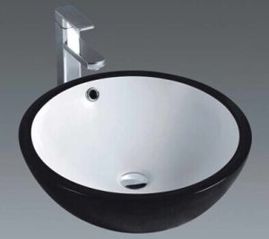 Bathroom Ceramic Art Basin with Black Surface (1001) pictures & photos