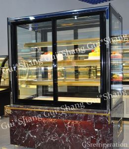 Upright Square Bakery Displayer CE RoHS