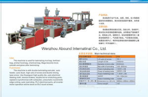 Plastic Extrusion Machine with Laminating Function for PP Woven Sacks pictures & photos