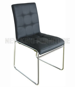 Stackable Popular Meeting Chair Leather Dining Chair (NK-DC002)