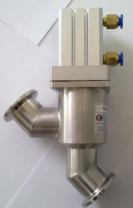 Pneumatic in-Line Valve - Kf Flange Valve pictures & photos