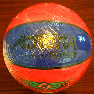 Basketball Customized Wear-Resisting Quality Cheap 8pieces 4#5#6#7# Sg5105 PVC Basketball pictures & photos