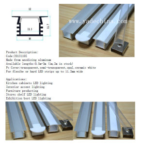 LED Extrusion Factory Aluminum Profiles for LED Strips Lamp pictures & photos