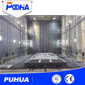 Industrial Sand Blasting Chamber with Dust Removal System (Q26) pictures & photos