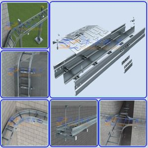 HDG Spin-off Assembly Ladder Cable Tray with Ce pictures & photos