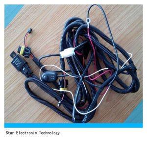 Auto Car Light LED Light Bar Wire Harness with Relay pictures & photos