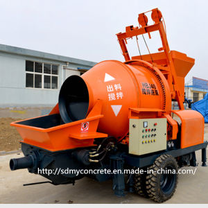 Hbj40 Concrete Mixer with Pump pictures & photos