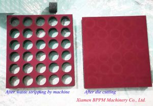 Paper Box, Paperboard Inside Waste Stripping Machine pictures & photos