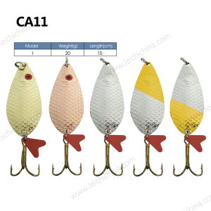 Wholesale Fish Style Spoon Lure pictures & photos