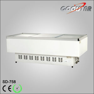 758L Frozen Food Merchandiser with Stainless Steel/Aluminum Alloy Case Frame Edge pictures & photos
