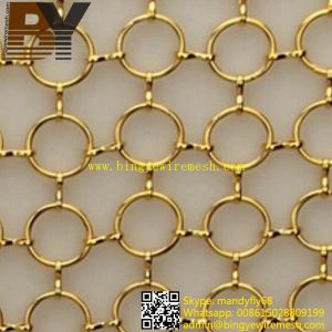 Ring Metal Curtain for Coffee Hose or Hall Curtain pictures & photos