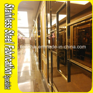 Interior Decorative Color Coated Stainless Steel Wall Cladding for KTV pictures & photos