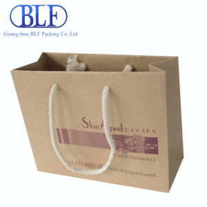 2016blf New Factory Direct Shopping Brown Kraft Paper Bags pictures & photos