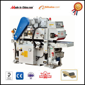 Woodworking Double Sided Planer with Helical Cutter Head pictures & photos
