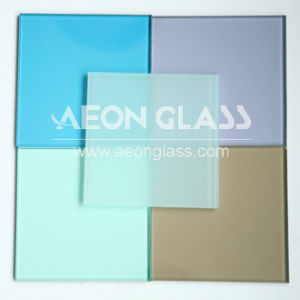 6.38mm-30mm, CE & ISO Certificate, Coloured Laminated Glass pictures & photos