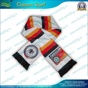 Germany Fans Scarf, Custom Cotton Sports Scarf (T-NF19F06009) pictures & photos