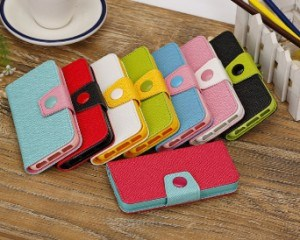 for iPhone 6 Plus Case PU Leather Wallet Case