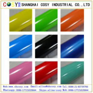 Color Vinyl for Cutting Plotter, Self Adhesive Color Vinyl Sticker pictures & photos