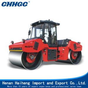 12/10 Tons Double Drum Vibratory Rollers