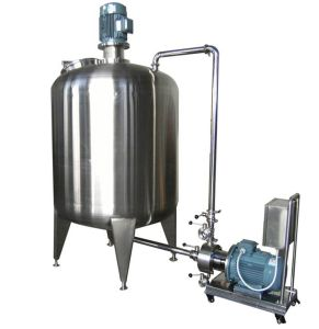 Emulsification Tank for Cream Ointment Liquid Cosmetic Lotion Shampoo Toothpaste pictures & photos