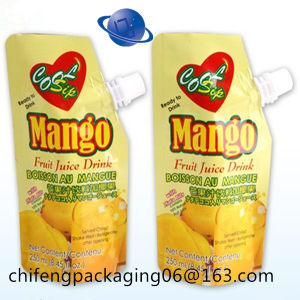 Lamianted Material Spout Pouch for Juice Packing pictures & photos