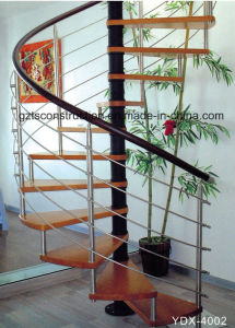 Customzied Spiral Stainless Steel Staircase pictures & photos
