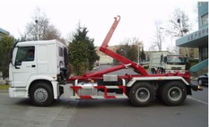 6*4 HOWO Hook-Lift Truck pictures & photos