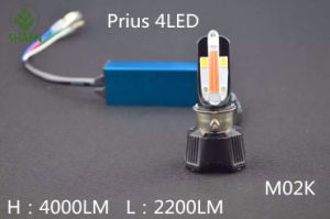LED Motorcycle Hedlight with Daytime Ruunning Light 40W Mk02 6000k pictures & photos