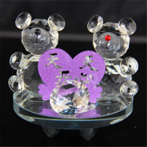 Cute Crystal Bear for Wedding Gift