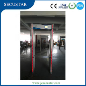 Security Gate with LED Alarm Light on Both of Door Sides