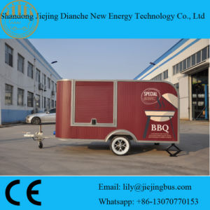 New Design Grilled Food Selling Mobile Food Trailer for Sale pictures & photos
