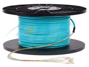 MTP/MPO to LC Fiber Optic Break out Cable pictures & photos